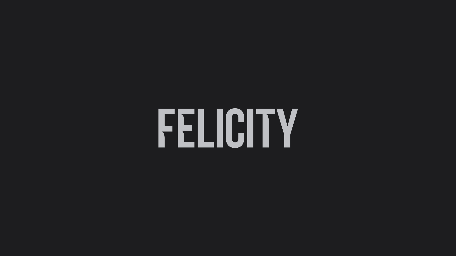 Felicity Logo - Wordmark