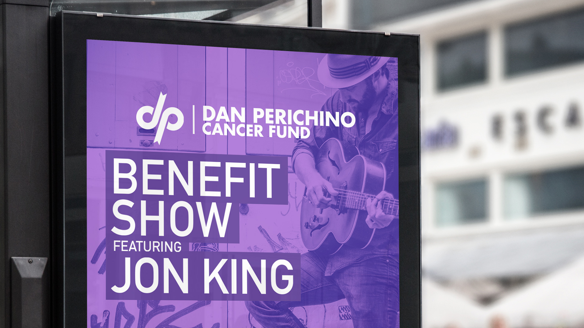 Dan Perichino Cancer Fund - Benefit Show Poster - Zoom