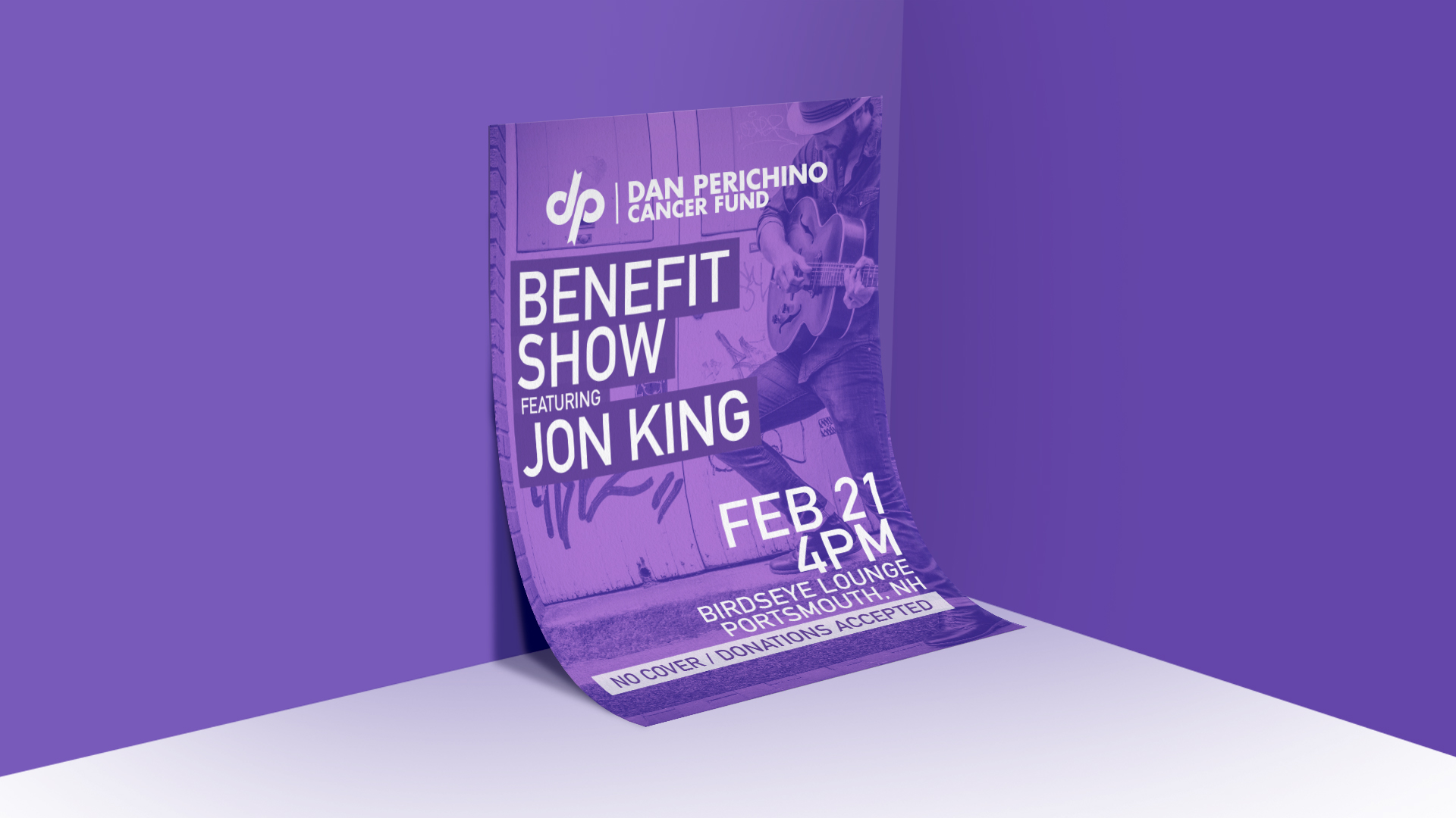 Dan Perichino Cancer Fund - Benefit Show Poster