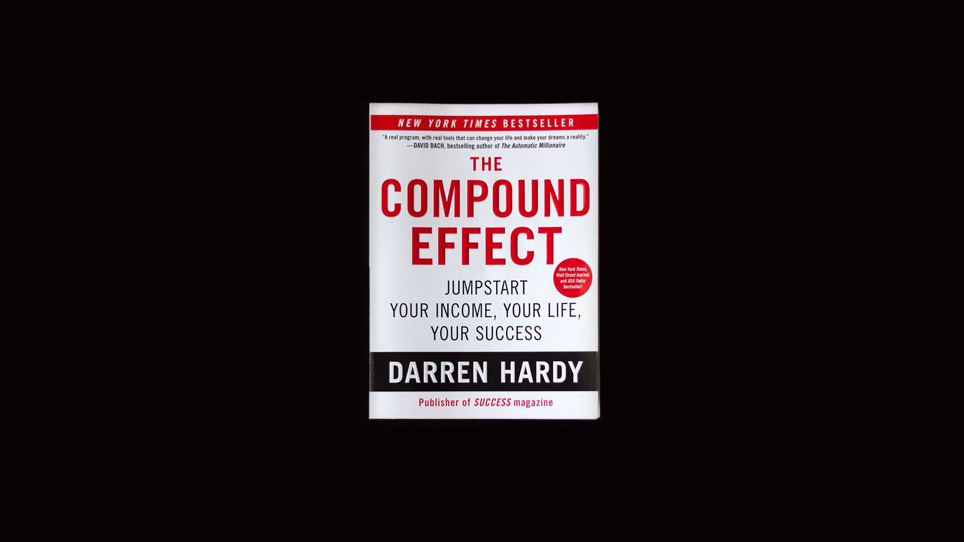 The Compound Effect - Book Review - Cover